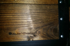 Žardinjere metal drvo