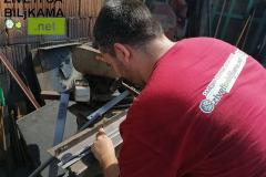 Izrada metalnih žardinjera