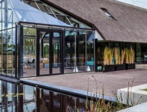 Kuća staklenik u Holandiji