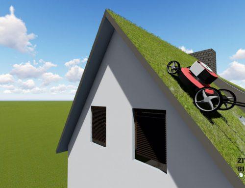 Travnjak umesto limenog krova
